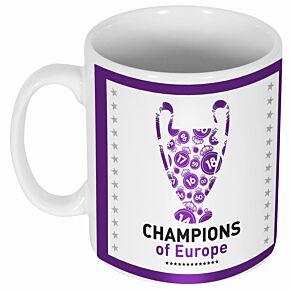 Real 2018 C/L Winners Trophy Mug