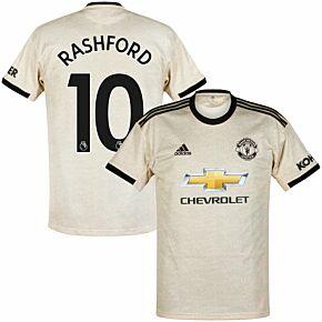 adidas Man Utd Away Rashford 10 Jersey 2019-2020 (Official Premier League Printing)
