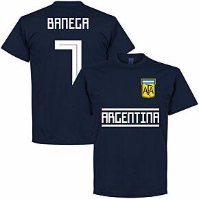 Argentina Banega 7 Team Tee - Navy