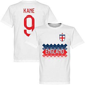 England Kane 9 KIDS Team Tee - White