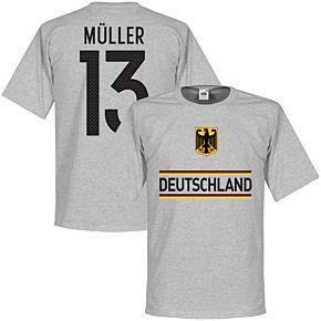 Germany Müller 13 Team Tee - Grey
