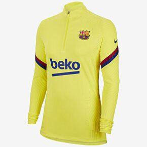 19-20 Barcelona Womens VaporKnit L/S Drill Top - Yellow