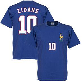 Zidane 1998 France Home Boys Tee