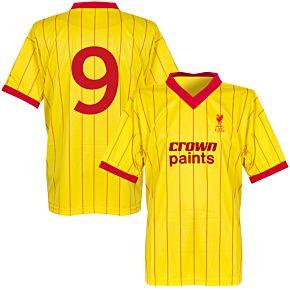 1982 Liverpool Away Retro Shirt + No. 9