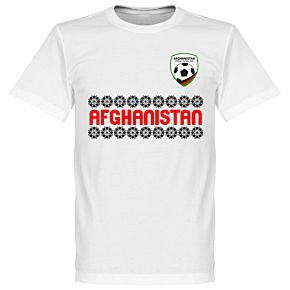 Afghanistan Team Tee - White