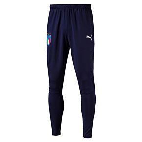 Italy Training KIDS Pants with Zipped Pockets 2018 / 2019 - Navy