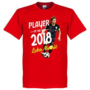 Modric Player of the Year 2018 Tee - Red