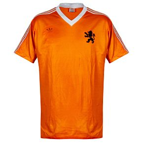 adidas Holland 1985-1986 Home Fan Shirt - Used Condition (Great) - Size L