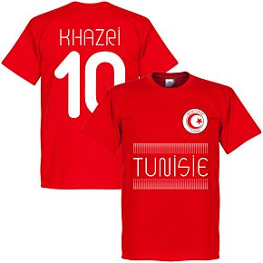 Tunisia Khazri 10 Team Tee - Red