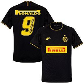 Nike Inter Milan 3rd Ronaldo 9 Shirt 2019-2020 (Racing Style Printing)