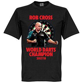 World Darts Champion Tee - Black