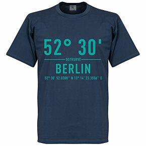 Hertha Berlin Home Coordinate Tee - Denim Blue