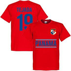 Panama Tejada 19 Team Tee - Red
