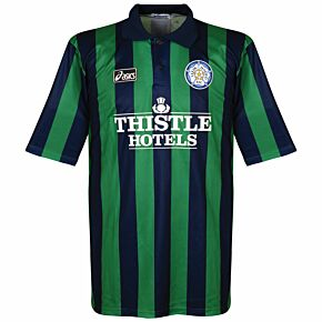 Asics Leeds United 1994-1996 Away Shirt USED Condition (Great) - Size L