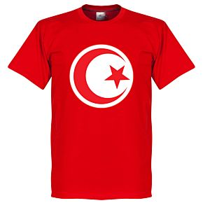 Tunisia Crest Tee - Red