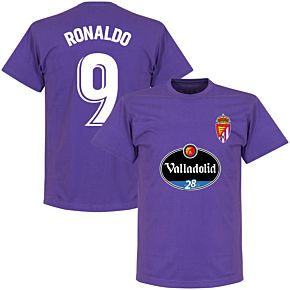 Valladolid Ronaldo 9 Team T-shirt - Purple