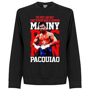 Manny Pacquiao Legend Sweatshirt - Black