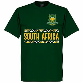 South Africa Rugby Team T-shirt - Bottle Green
