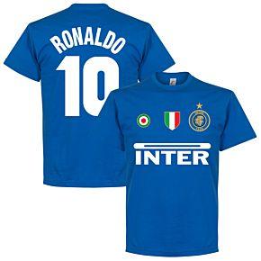 Inter Ronaldo 10 Team Tee - Royal
