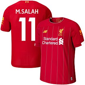 19-20 Liverpool Home Shirt - Kids + M. Salah 11 (Fan Style)