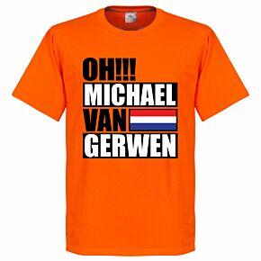 Oh Michael van Gerwen Tee - Orange