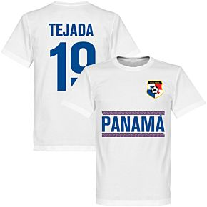 Panama Tejada 19 Team Tee - White