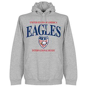 USA Rugby Hoodie - Grey