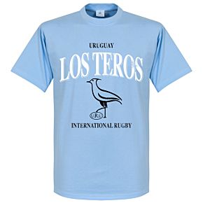 Uruguay Rugby Tee - Sky