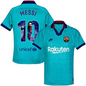 Nike Barcelona 3rd Messi 10 Jersey 2019-2020 (Gallery Style Printing)