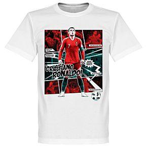 Ronaldo Comic T-Shirt - White