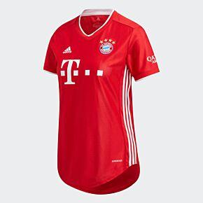 20-21 Bayern Munich Home Womens Shirt