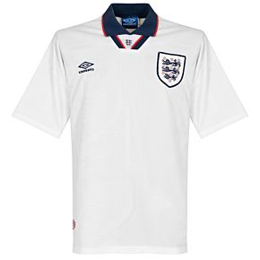Umbro England 1993-1995 Home Shirt - USED Condition (Great) - Size Large