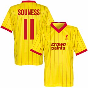 1982 Liverpool Away Retro Shirt + Nouness 11