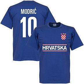 Croatia Modric 10 Team KIDS Tee - Royal