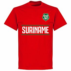 Suriname Team T-Shirt - Red