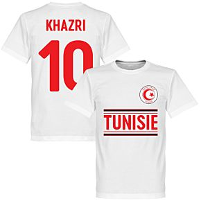 Tunisia Khazri 10 Team Tee - White