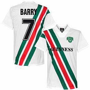 1991 Cork City FC Home Retro Shirt + Barry 7