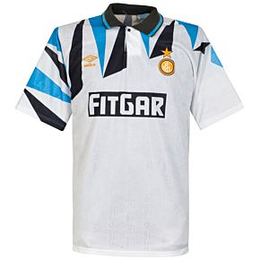 Umbro Inter Milan 1991-1992 Away Shirt - USED Condition (Great) - Size Large