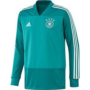 adidas Germany Training Top - Green/White 2018-2019
