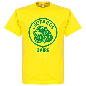 Zaire Leopards Tee - Yellow