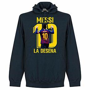 Messi La Desena Hoodie - Navy