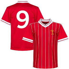 1984 Liverpool European Cup Retro Shirt + No. 9
