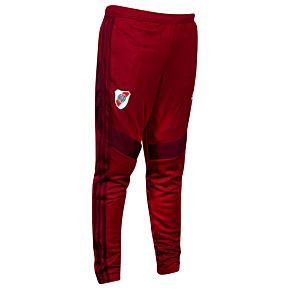 adidas River Plate Track Pants - Burgundy 2019-2020