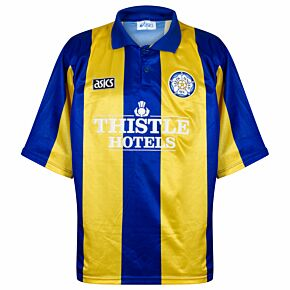 Asics Leeds United 1993-1994 Away Shirt USED Condition (Great) - Size XL