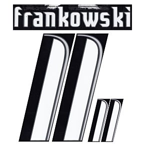 Frankowski 11 - 06-07 Poland Away Official Name and Number Transfer