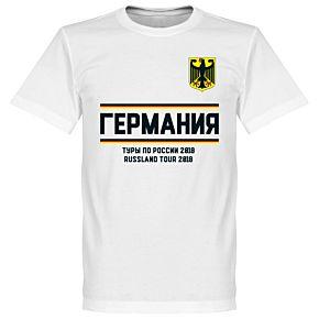 Germany Russia Tour Tee - White