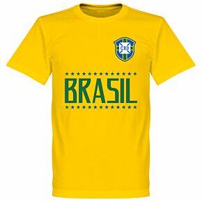 Brazil Team Tee - Yellow