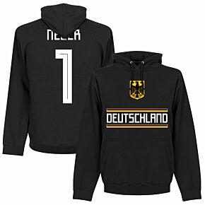 Germany Neuer 1 Team KIDS Hoodie - Black