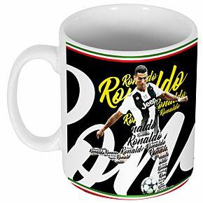 Ronaldo Script Mug