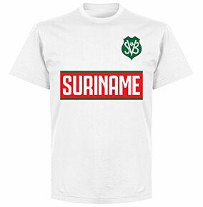Suriname Team T-Shirt - White